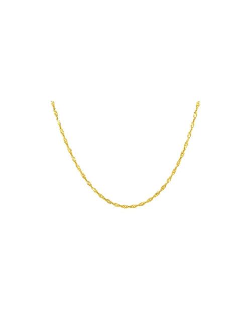 Pendentif Lion Or Jaune  9 carats + Chaîne en Or offerte