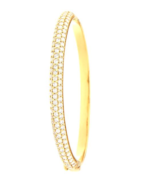 """Bracelet """"Style Esclave"""" Or Jaune 18 Carats"""