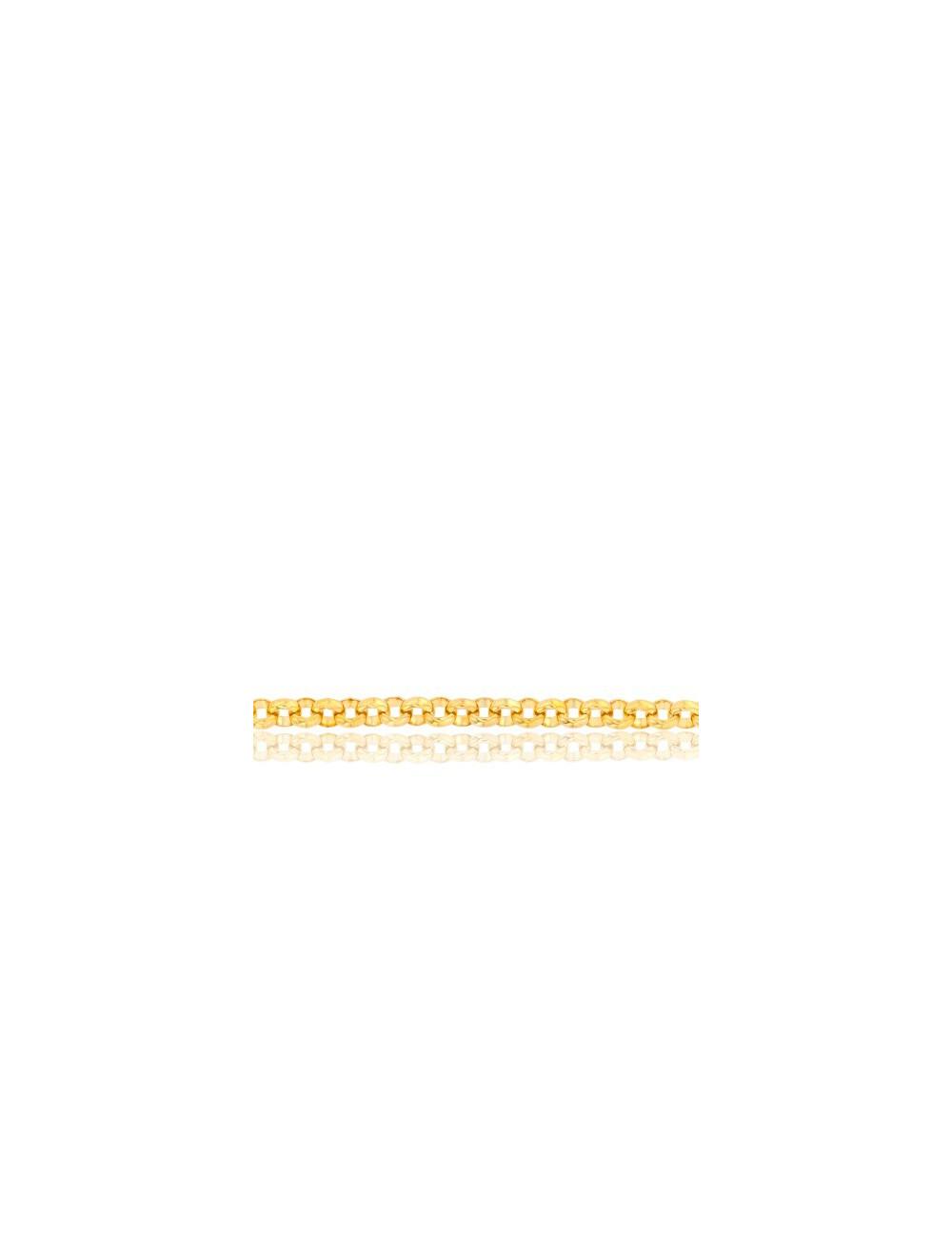 Chaîne Jaseron 1 3 mm Or Jaune 18K