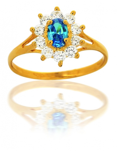 Bague Topaz Or 18 Carats