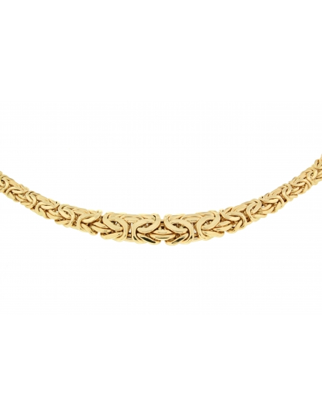 Collier Maille Royale Or Jaune 18 Carats