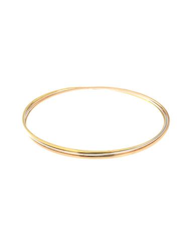 """Bracelet """"Style Esclave"""" 3Ors 18 Carats"""