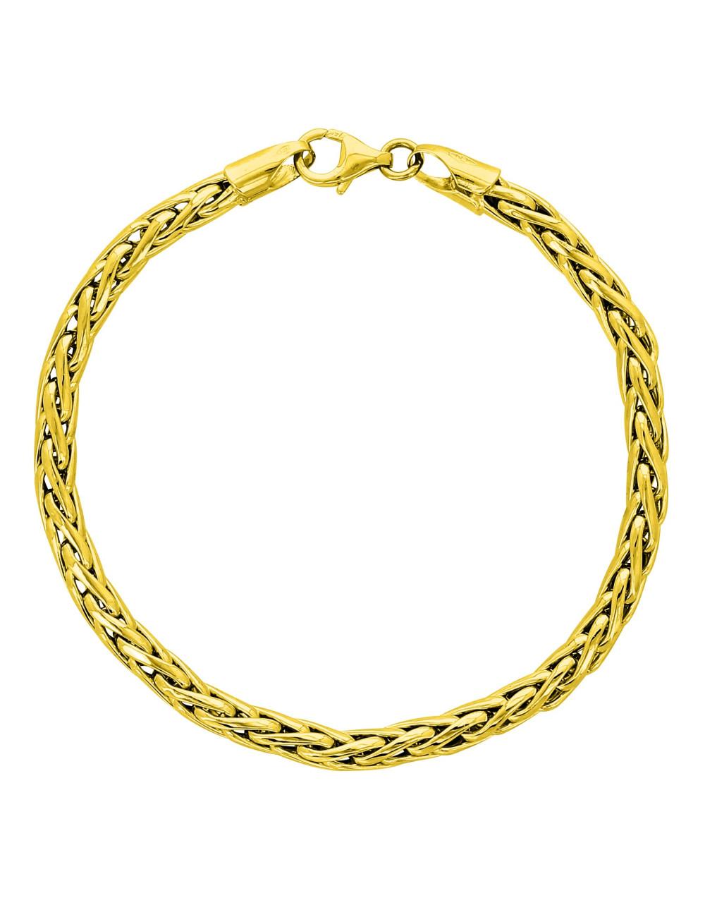 Bracelet Palmier rond Or 18 carats