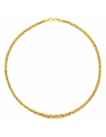Collier Maille Palmier Rond Or 18 carats