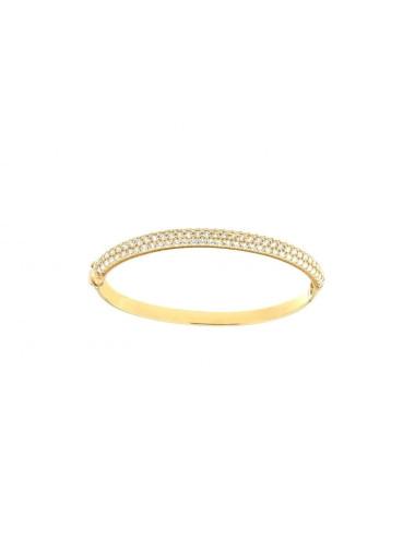 Bracelet Esclave Or Jaune 18 Carats