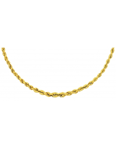 Collier Maille Corde Or 18 carats