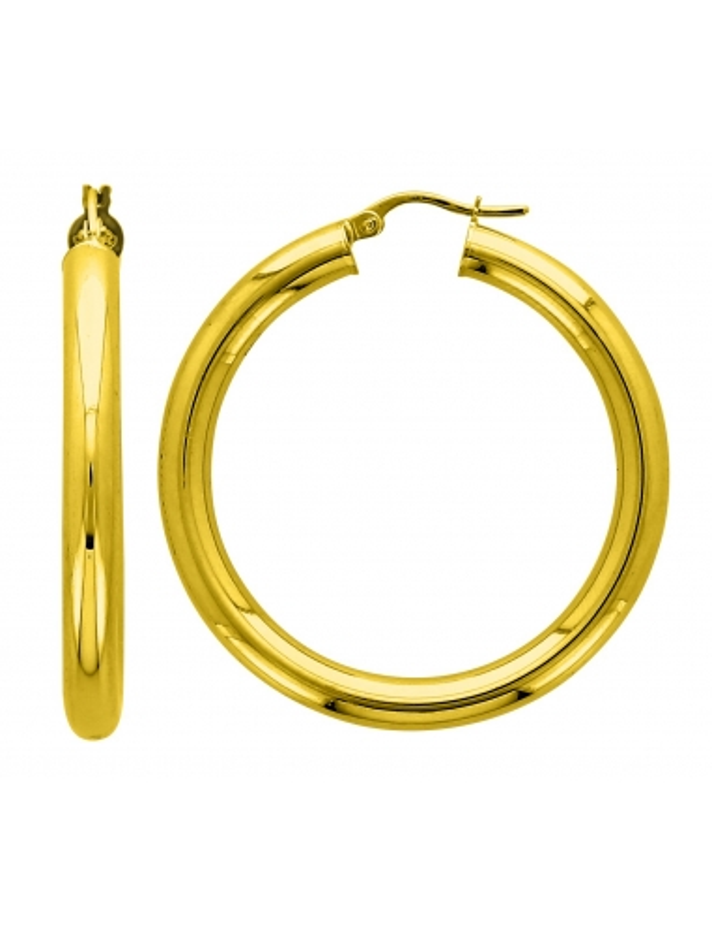 Boucle d'Oreille Or 18 carats
