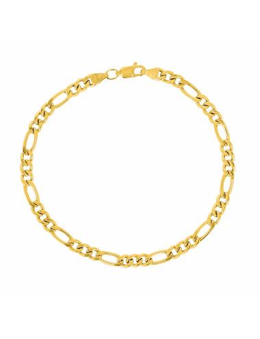 Bracelet Homme Alterné Or 18 Carats