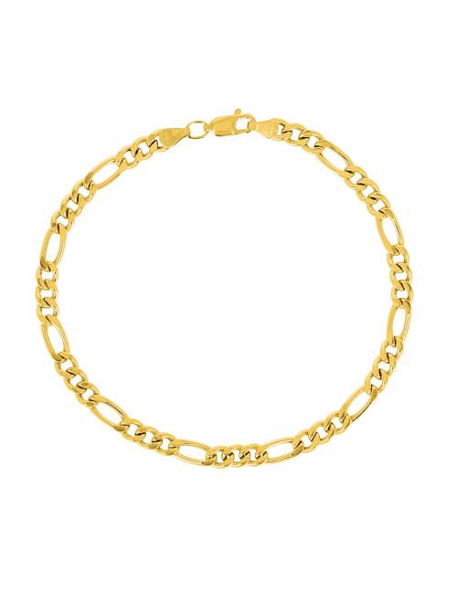 Bracelet Homme Alterné Or 750/1000 bijoux homme pas cher