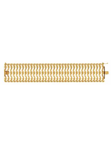 Bracelet Cléopâtre En Or Jaune 18 carats