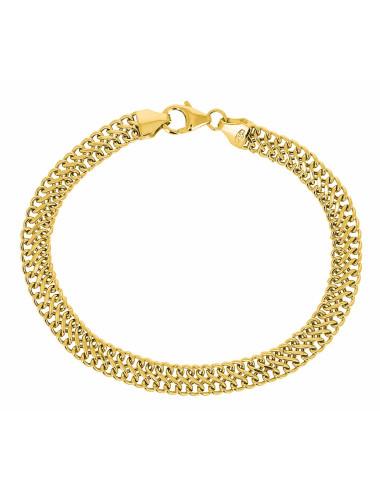 Bracelet Russe En Or Jaune 18 Carats