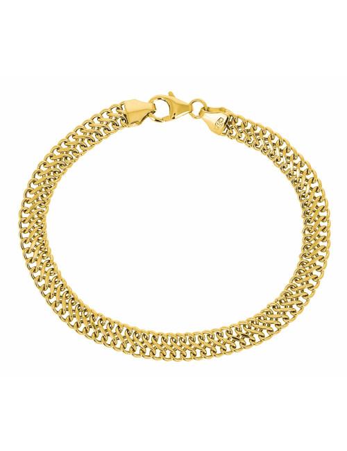 Bracelet Russe En Or Jaune 750/1000 pas cher bijoux femme