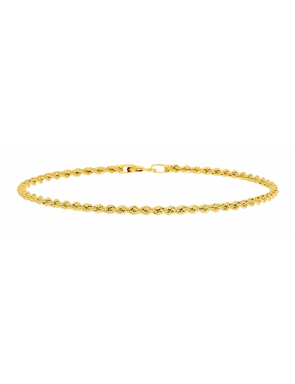 Bracelet Corde En Or Jaune 750/1000 BIJOUX FEMME