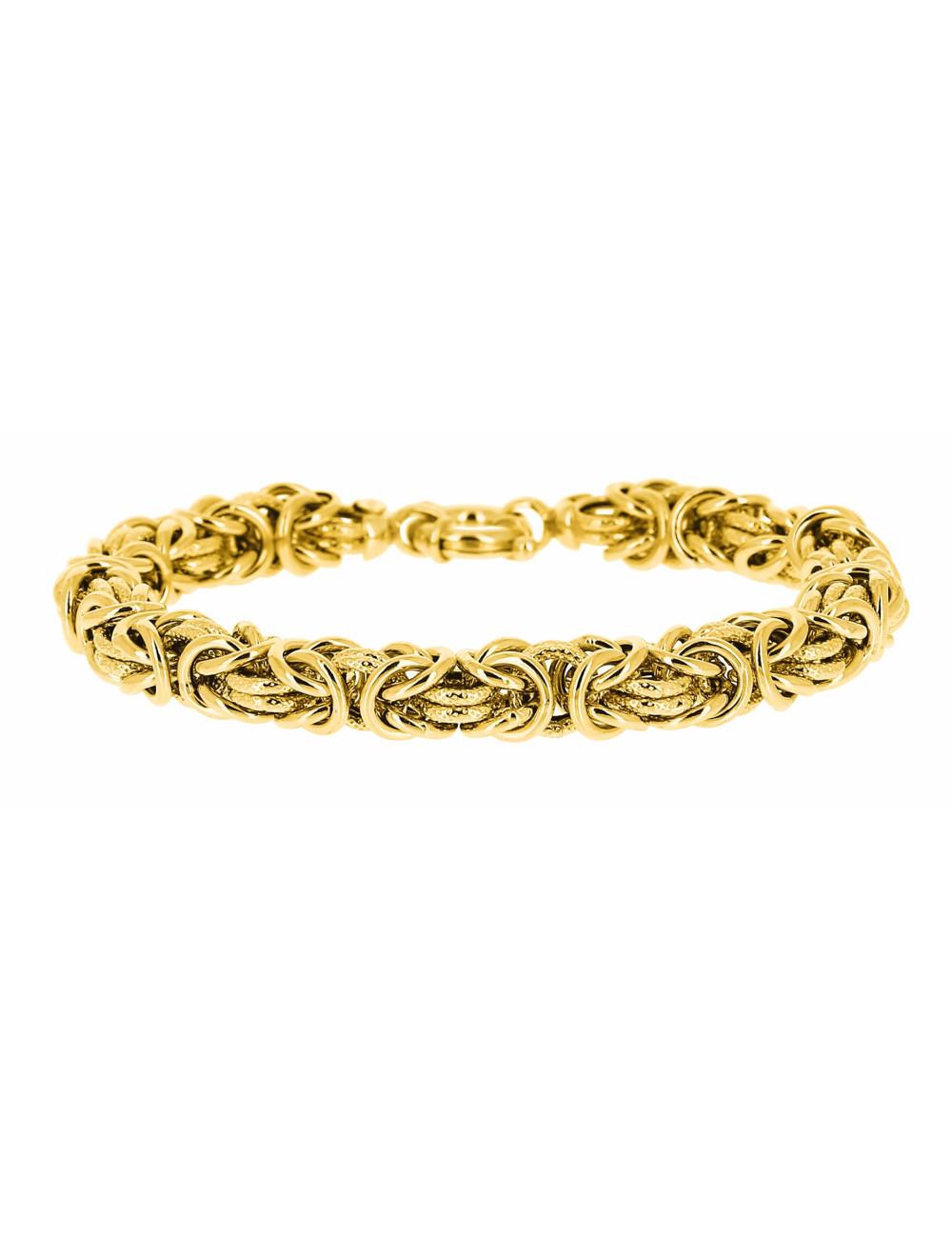 Bracelet Maille Royale Or Jaune 750/1000