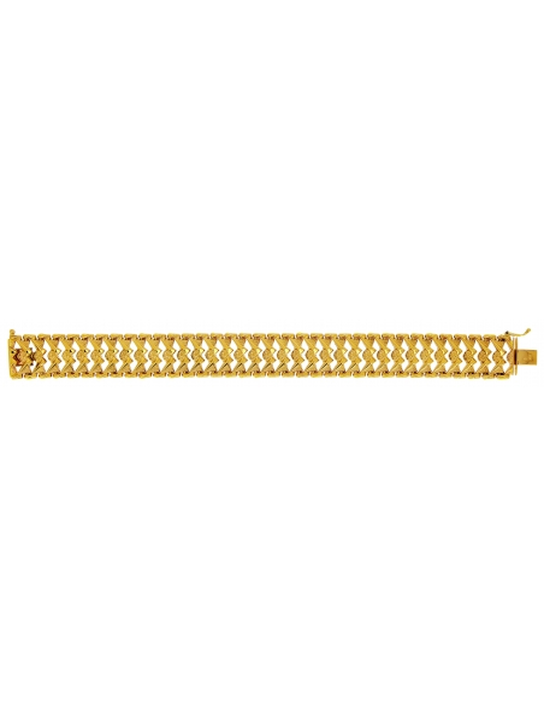 Bracelet Egyptien Or 18 Carats
