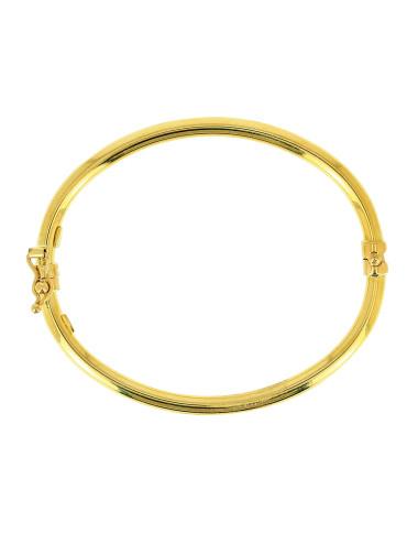 Bracelet Esclave Lisse Bébé Or 18 carats