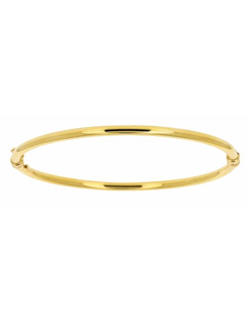 Bracelet Esclave Lisse Or 18 carats