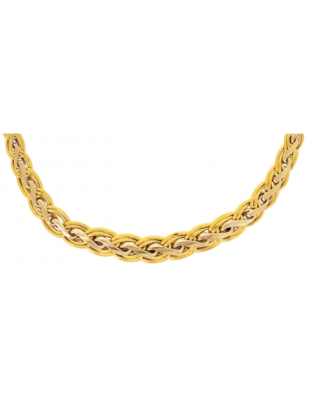 Collier Maille Palmier Plat Or 18 carats