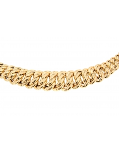 Collier Maille Américaine  Or Jaune 18 Carats