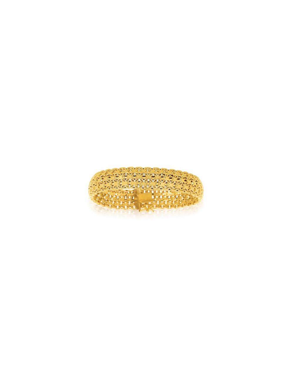 bracelet or jaune femme pas cher