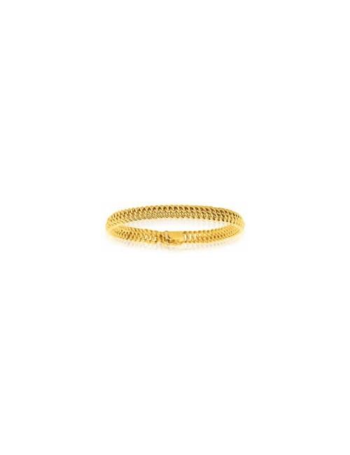 Bijou bracelet maille or jaune pas cher