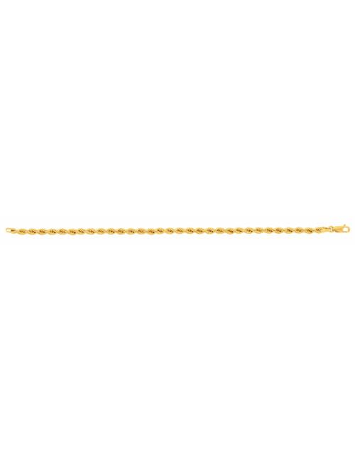 Bracelet femme or jaune bijoux pas cher