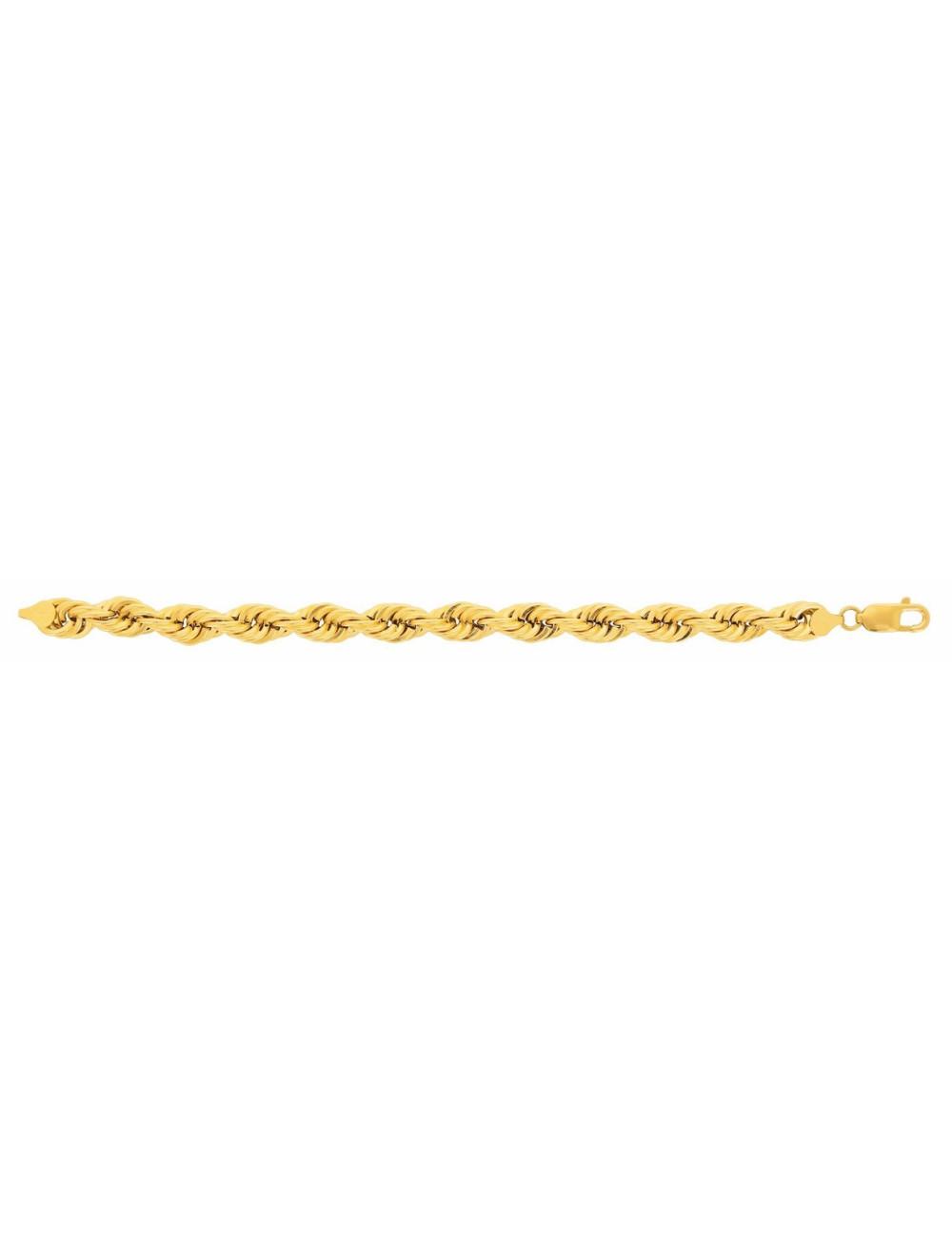 Bracelet maille femme or jaune pas cher