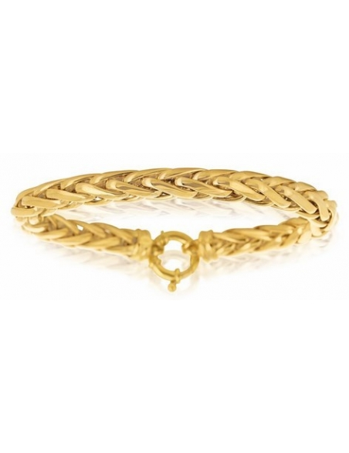 bijoux bracelet femme or jaune 750/1000