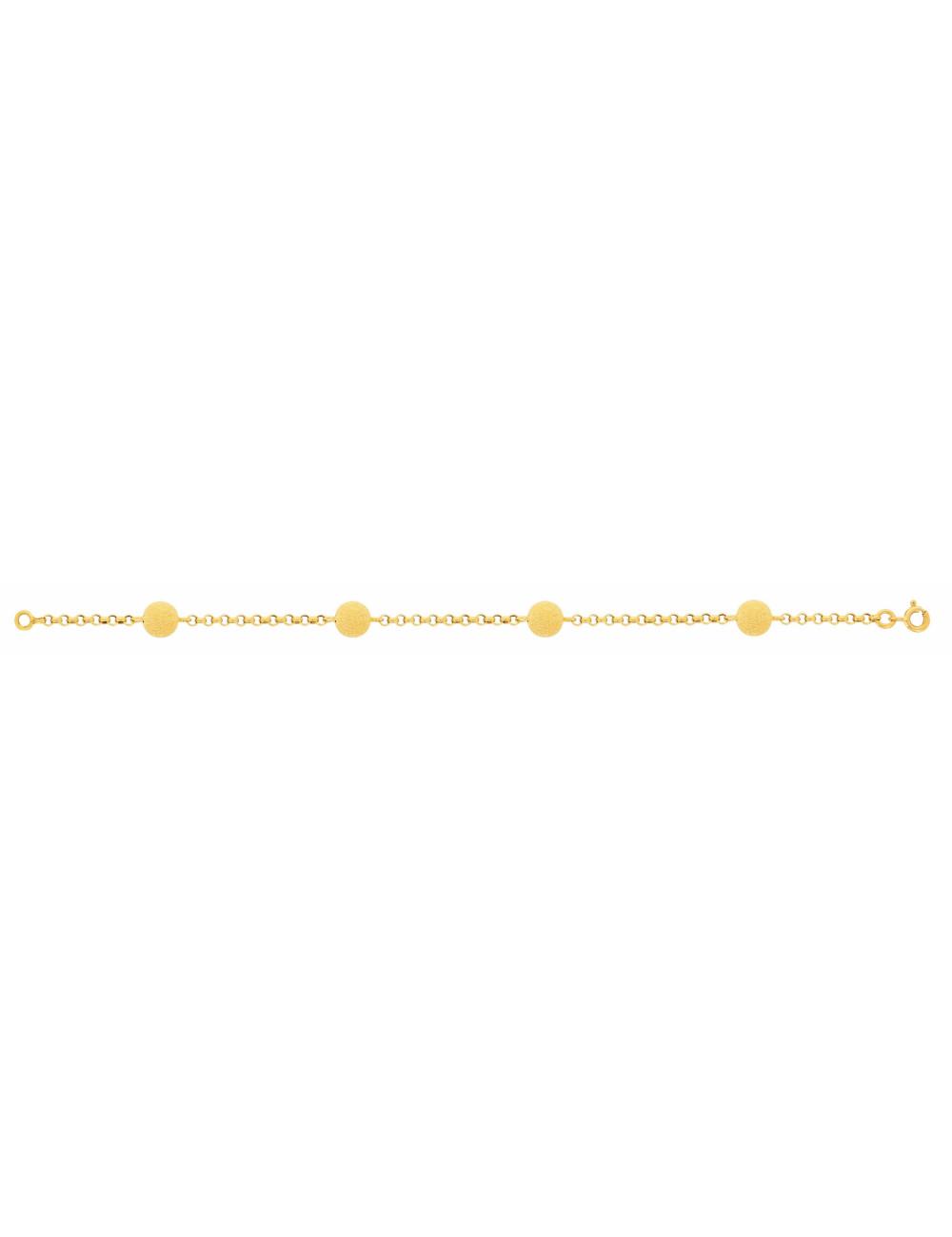 Bracelet femme bijoux 18 carats pas cher