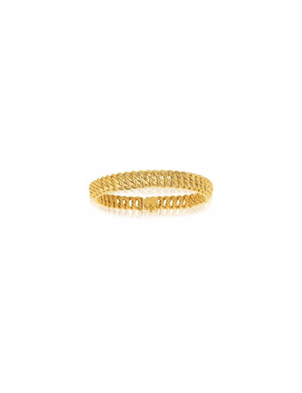 bracelet maille pas cher bijoux 750/1000