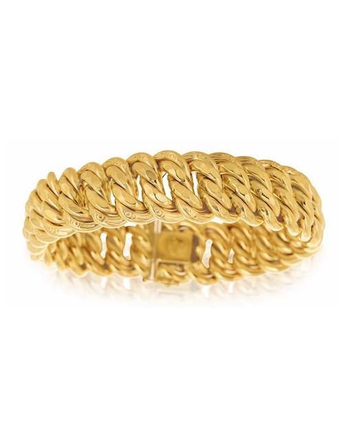 bracelet maille pas cher femme 18 carats
