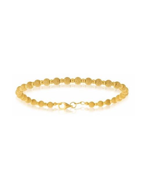 Bracelet bijoux boule femme 18 carats