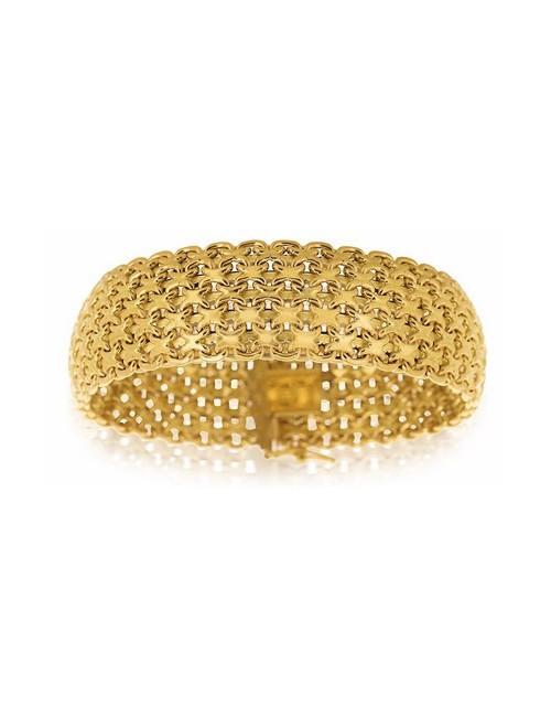 bracelet bijoux or jaune femme pas cher 750/1000