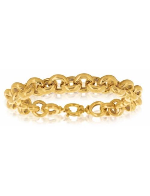 bijoux bracelets maille or jaune 18 carats