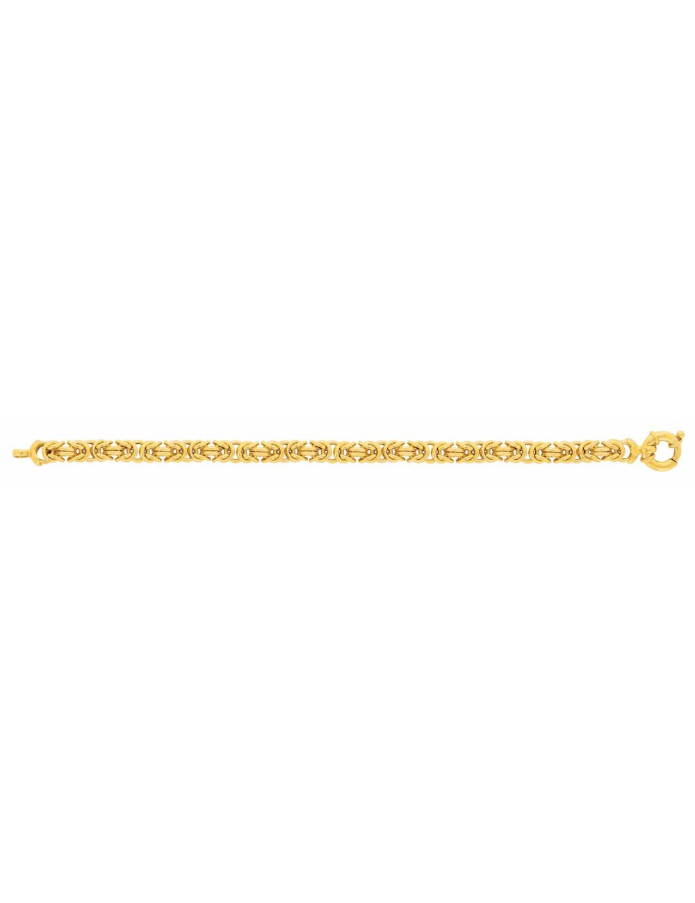 Bracelet femme or jaune pas cher