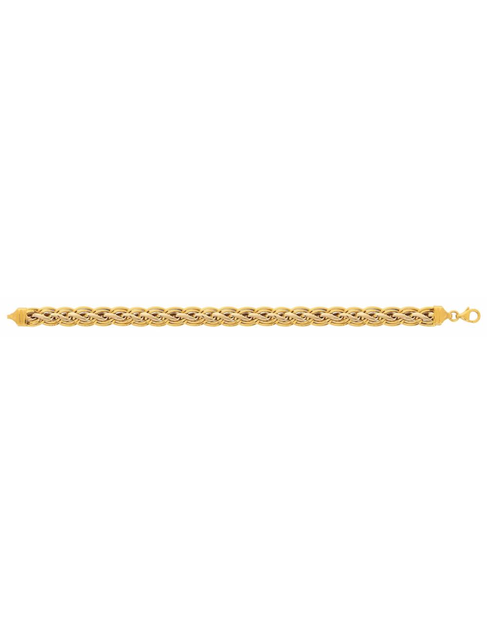 Bracelet or jaune femme 750/1000 bijoux