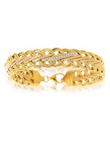 bijoux fantaisie or jaune pas cher maille