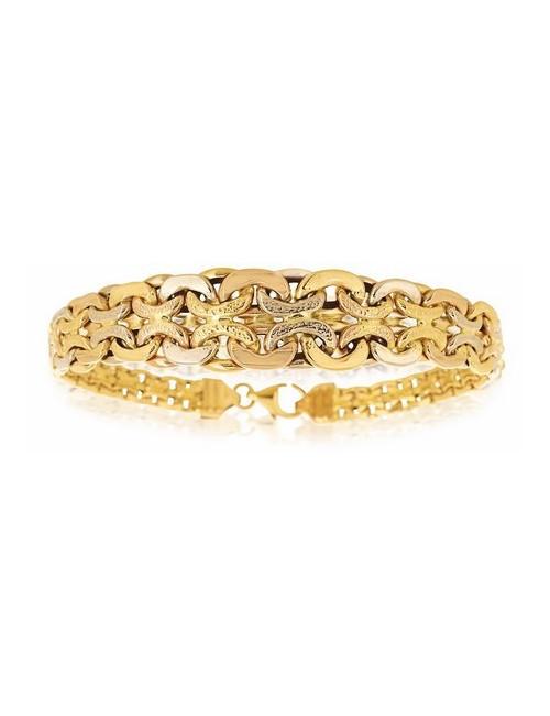 bijoux bracelet femme or jaune pas cher