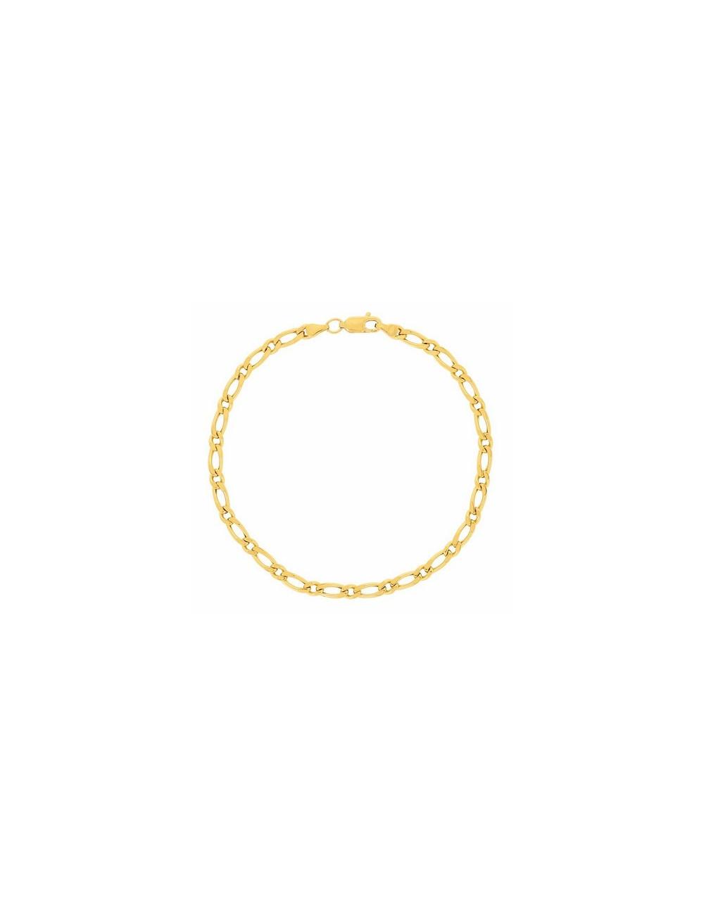 bracelet or jaune homme 750/1000