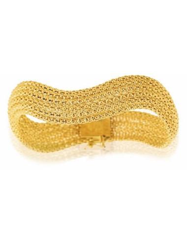 maille bijoux or jaune 750/1000