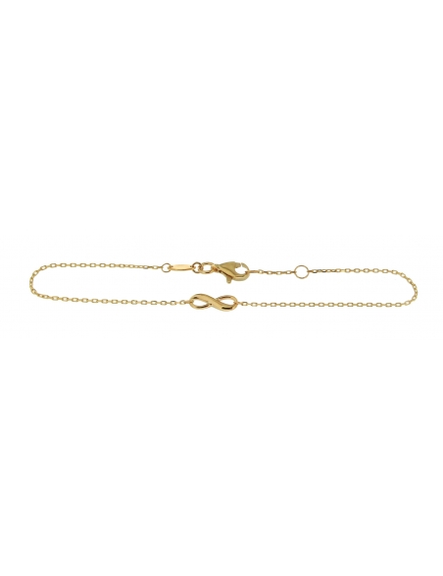Bracelet or jaune 9 carats