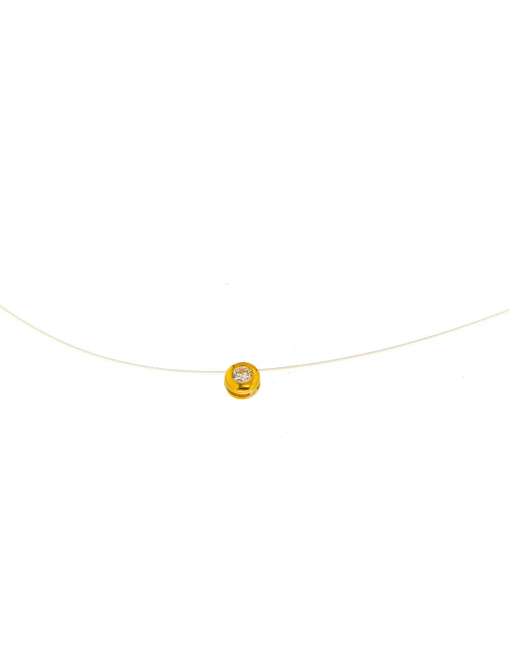 Collier femme 9 carats bijoux