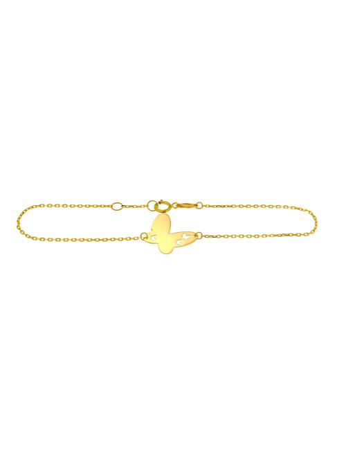 bracelet 375/1000 papillon