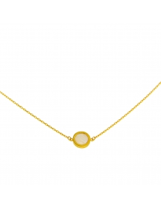 Collier 9 carats or jaune