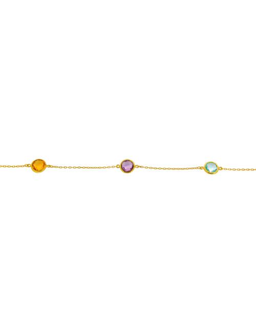 bijoux tricolore femme pas cher