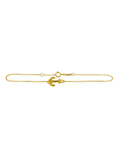 Bracelet ancre femme pas cher