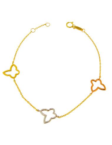 Bracelet or jaune femme