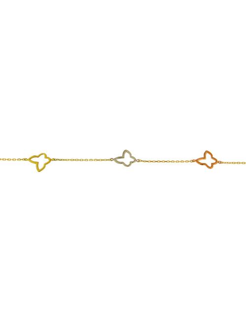 bracelet tricolore femme pas cher