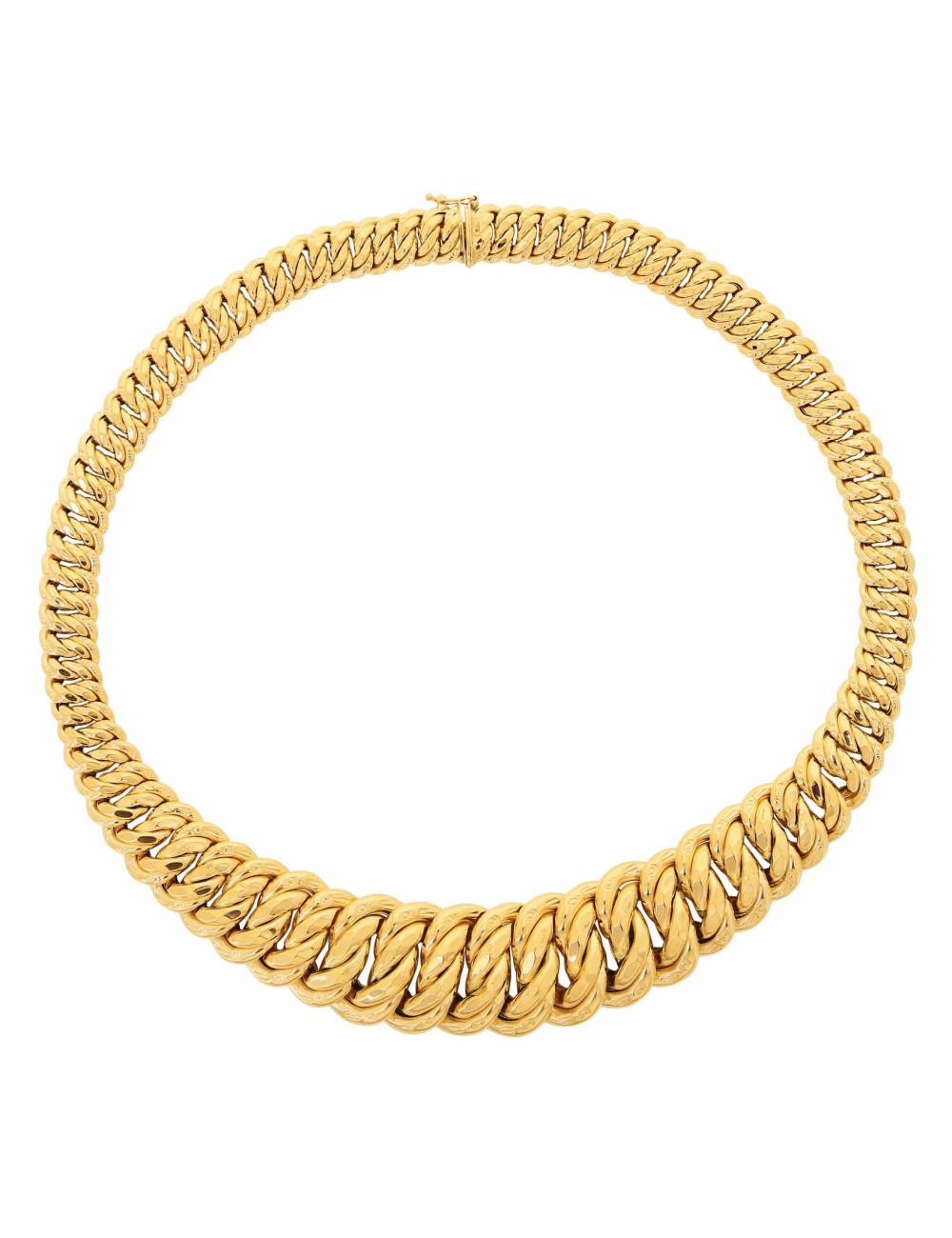 collier chute femme 18 carats