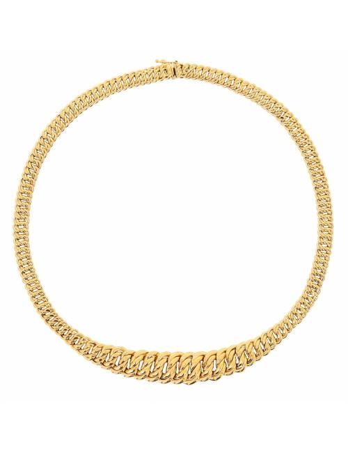 collier or jaune 750/1000 bijoux